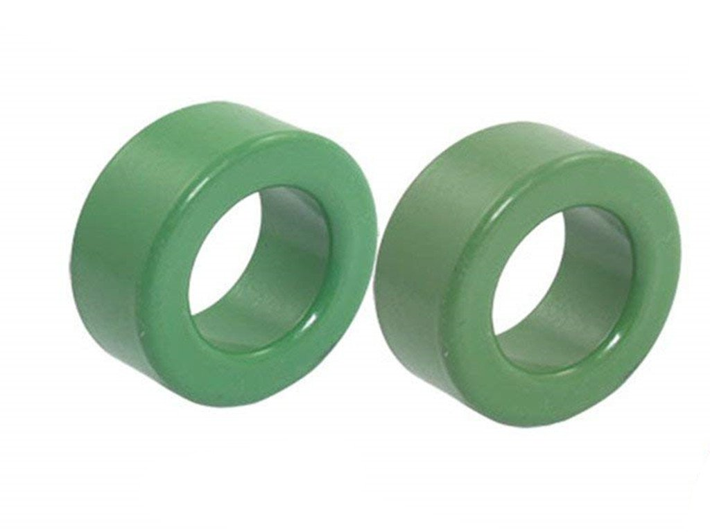 4 Pieces Green Iron Toroid Ferrite Core