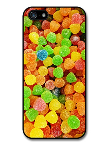 Cool Food Pattern Collage with Candy Sweets Funny Gross Grunge Goth case for iPhone 5 5S