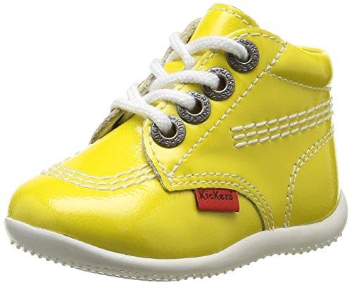 Kickers Billista - Zapatos de primeros pasos Bebé-Niños amarillo