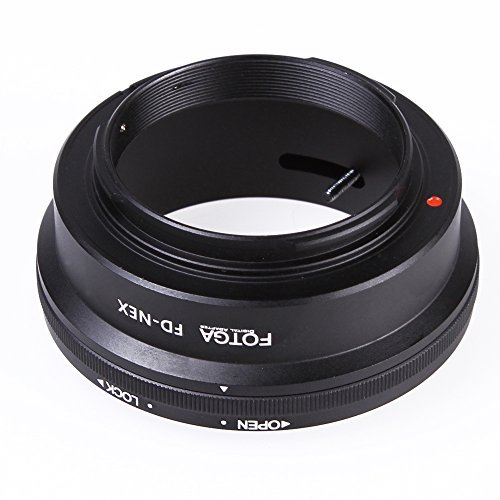 Andoer Fotga Adapter Mount Ring for Canon FD Lens to Sony NEX E NEX-3 NEX-5 NEX-VG10