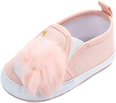 Toddler Baby Boy Girl Crib Shoes Anti-slip Prewalker Sole Trainers Sneakers FI