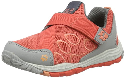 Jack hot Zapatillas Vc Ride Unisex Low Naranja Coral K Niños Wolfskin Monterey xqxagwFRC