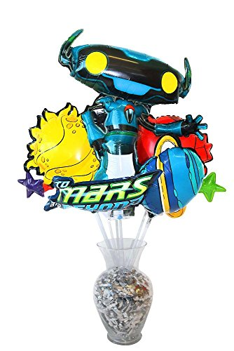 Vacation Bible School (VBS) 2019 To Mars and Beyond Foil Balloon Bouquet (Pkg of 7): Explore Where God's Power Can Take You!