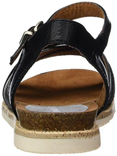 Negro Marco Cuña 28401 con Comb Mujer 098 Black Sandalias Tozzi para UwUOqr0