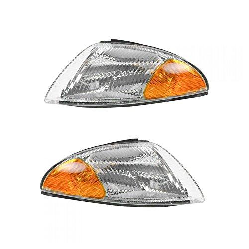 Side Corner Parking Light Pair for Dodge Intrepid 95 96 97