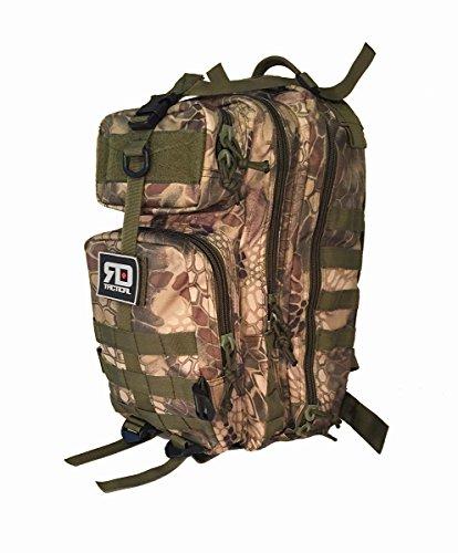 Red Dot Tactical Urban Backpack, Krypek Camo