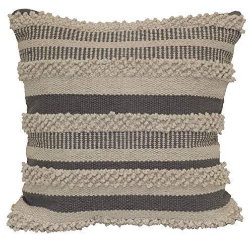 - Brentwood Originals Textured Stripe Pillow, 18