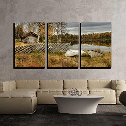 Furusjoen Lake x3 Panels