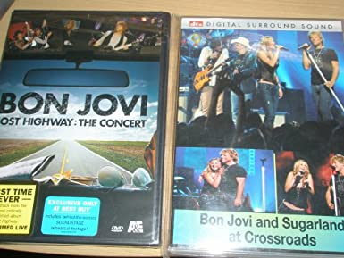 Bon Jovi Lost Highway Concert Dvd+ Crossroads DVD