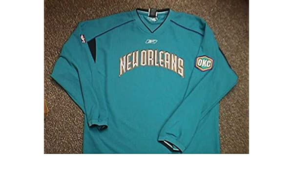 adec49398 J.R Smith New Orleans Hornets 2003-2005 Game Worn Shooting Shirt. by Reebok