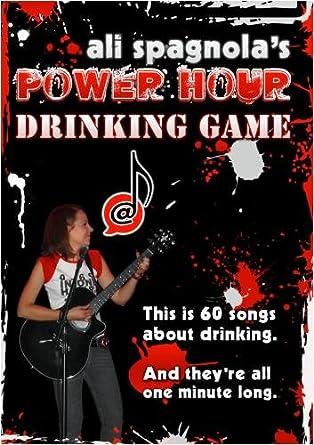 Amazon com: Ali Spagnola's Power Hour Drinking Game: Movies & TV