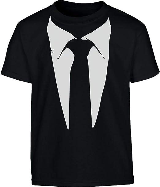 Shirtgeil - Camiseta con Corbata Estampada para niños y niños ...