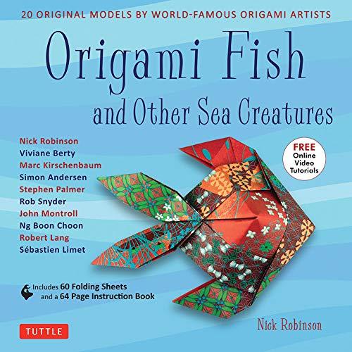 (Origami Fish & Other Sea Creatures Book 20 Original Models - Online Tutorial)