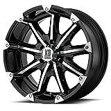 xd series badlands black - KMC XD XD779 Badlands Machined Black 18x9 5x5.5 18mm (XD77989055318)