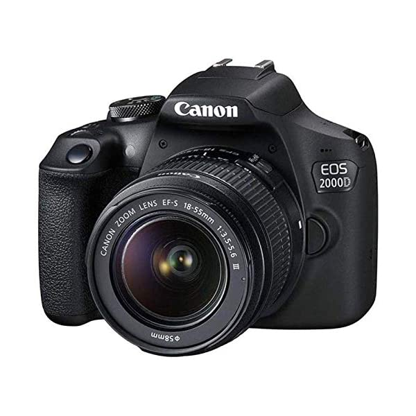 Canon EOS 2000D Rebel T7 Kit with EF-S 18-55mm f/3.5-5.6 III Lens