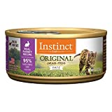 Instinct Original Grain Free Real Rabbit Recipe Natural Wet Canned Cat Food By Nature'S Variety, 5.5 Oz. Cans (Case Of 12) For Sale