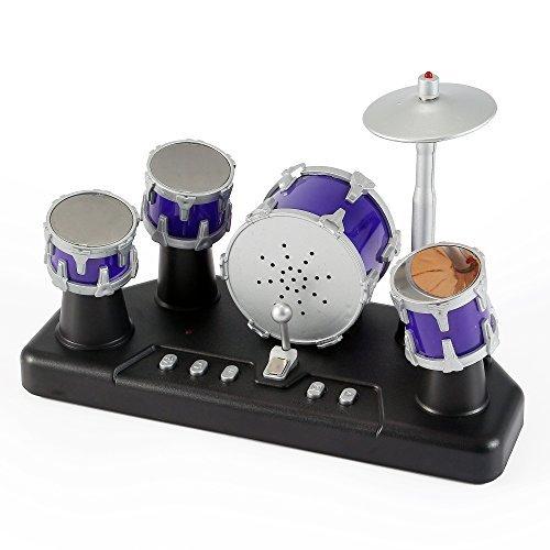 PowerTRC Electronic Mini Finger Drum Set with - Miniature Set Drum