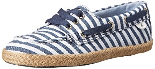 Sperry Top-Sider Cruiser Boat Shoe (Toddler/Little Kid/Big Kid),Blue/Stripe,1 M US Little Kid