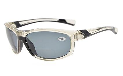 Eyekepper Policarbonato polarizados deporte Bifocal gafas de sol para mujeres béisbol funcionamiento pesca conducción Softbol Golf