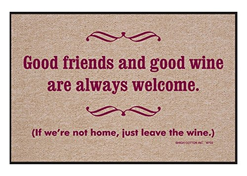 good-friends-and-good-wine-are-always-welcome-doormat