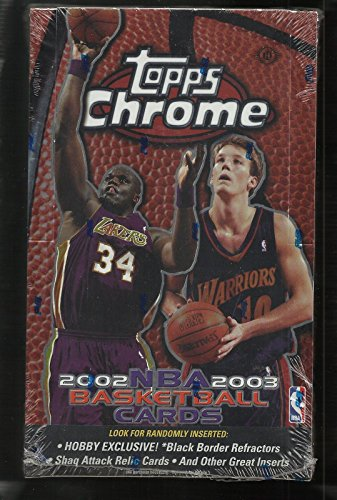 03 Topps Chrome Basketball - 2