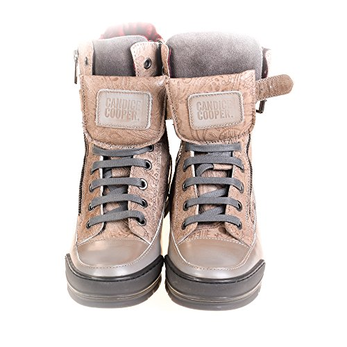 Candice Cooper Damen Sneaker High Leder Braun
