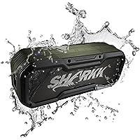 SHARKK Commando+ Bluetooth Speaker IP65 Wireless Waterproof Speaker with 6600mAh Power Bank and 16 Hours+ Battery Life