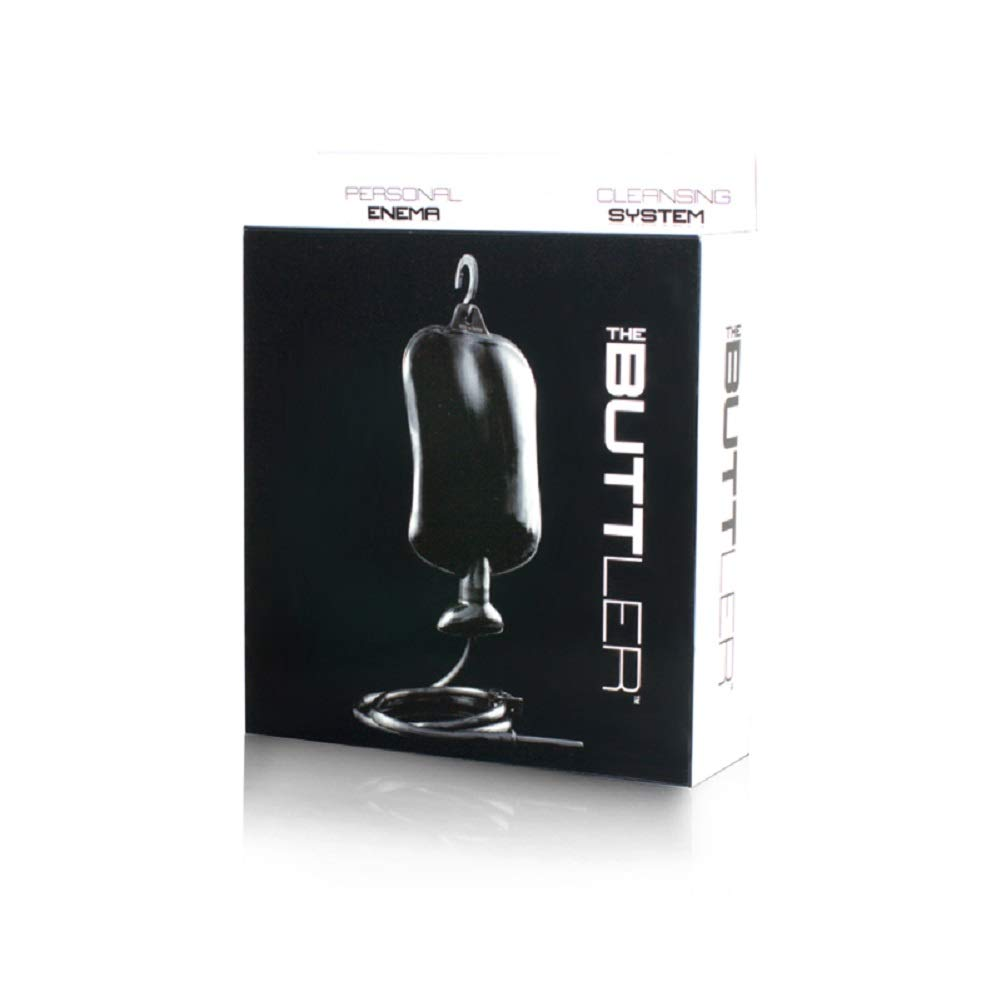 The Buttler Personal Enema Cleansing System with Free Bottle of Adult Toy Cleaner by SI Novelties