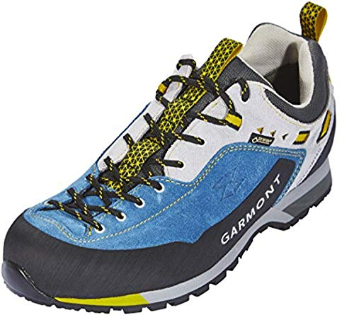 Garmont Men's Dragontail LT GTX Shoes Night Blue/Light Grey 10 & Cap Bundle
