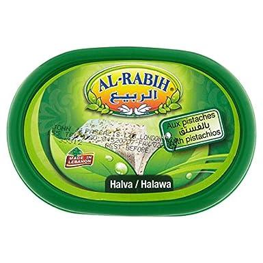 Al Rabih Halva Libanés Con Pistachos 400G: Amazon.es: Alimentación y bebidas