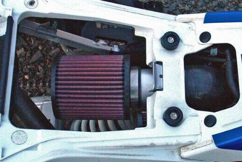 Malone Motorsports VelI-LTR450-1 Suzuki LTR450 Velocity Intake System with K&N Filter by Velocity Intake Systems (Image #3)
