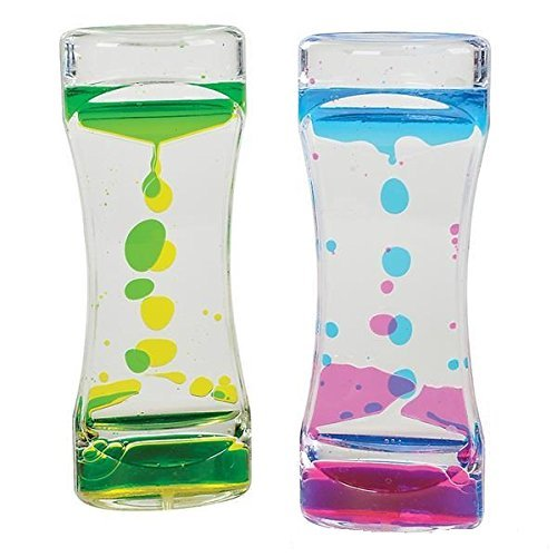 Liquid Motion Bubble Timer Toy for Sensory Play, Relaxing Re