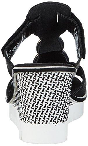 Rieker 68563, Women's Mules Black (Schwarz/Granit / 00 00)