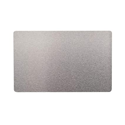 Tarjeta de metal para negocios, 100 unidades, tarjeta en blanco ...