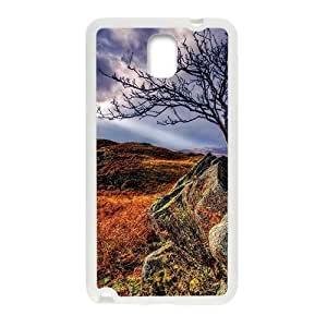 Autumn Fields Rocks White Phone Case for Samsung Galaxy Note3