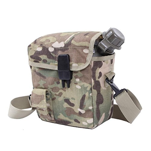Rothco Molle Bladder Canteen Cover, Multicam