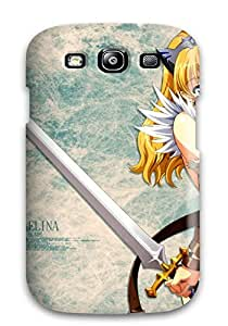 Awesome Leina Anime Flip Case With Fashion Design For Galaxy S3