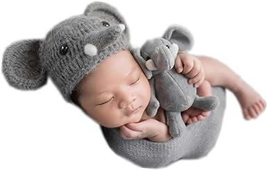Jeffery Jr the Elephant Hat and Diaper Cover Baby Set PDF Crochet ... | 248x385