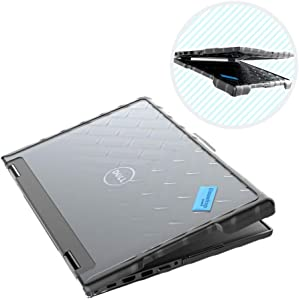 Gumdrop Droptech Case Designed for Dell Latitude 13 3390 2-in-1 Laptop for K-12 Students, Teachers, Kids - Black, Rugged, Shock Absorbing, Extreme Drop Protection