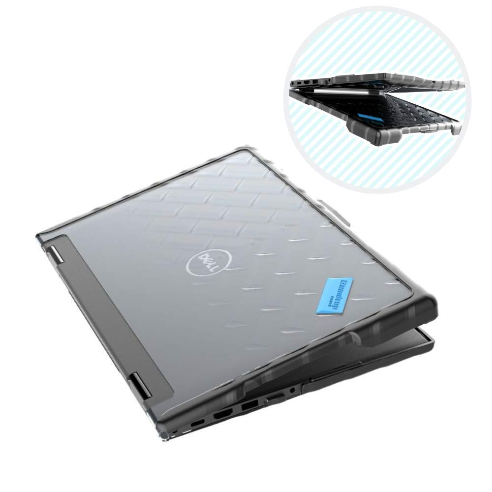 Gumdrop Droptech Case Designed for Dell Latitude 13 3390 2-in-1 Laptop for K-12 Students, Teachers, Kids - Black, Rugged, Shock Absorbing, Extreme Drop Protection by GumDrop (Image #1)