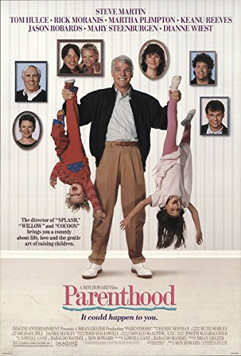 Parenthood 1989 Authentic Original Movie Poster Rolled Steve Martin Drama U.S. One Sheet