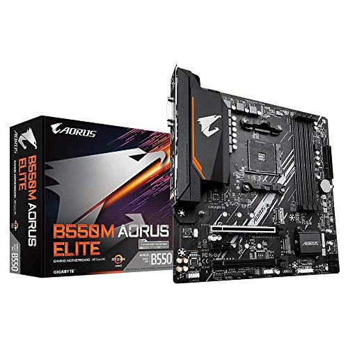 Gigabyte AMD B550 AORUS Elite Socket AM4 Micro ATX DDR4-SDRAM Motherboard