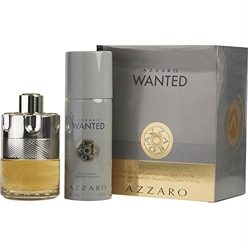 Azzaro Wanted By Azzaro 2 Piece Set For Men