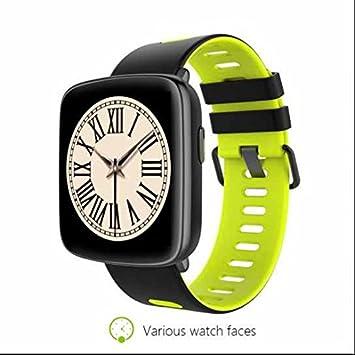 Bluetooth SmartWatch con cámara, reloj de running GPS con Cardio, reloj inteligente llamadas,