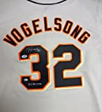 "SAN FRANCISCO GIANTS RYAN VOGELSONG AUTOGRAPHED GRAY JERSEY ""2011 ALL-STAR"" PSA/DNA STOCK #51693"