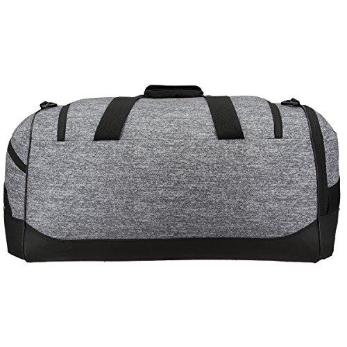 51Zq0M%2BbGmL adidas Team Issue Duffel Bag, Small, Onix Jersey/Black