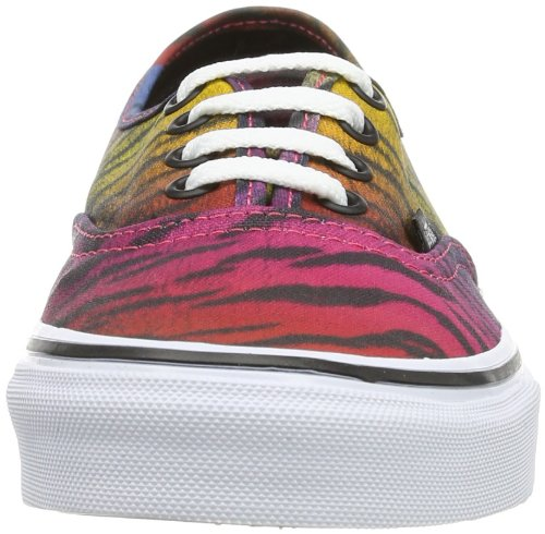 adulte Vans Authentic U Baskets mode mixte Black Violet pRH1qB8wn