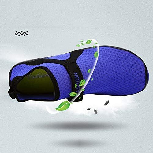 上流の靴通気性速乾性ビーチシューズ水泳シューズカジュアルシューズ、アウトドアレジャーカップルメッシュゴム素材(ブラック) ポータブル (色 : Black, Size : US8.5)