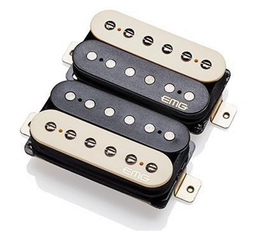 新版 EMG Fat Fat 55 Retro Active Electric Zebra Guitar Humbucker [並行輸入品] Pickup Set Zebra [並行輸入品] B078HQFSWC, マンボシオンライン:f08971e4 --- arianechie.dominiotemporario.com