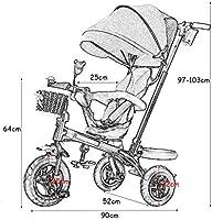 LJFYMX carrito bebe Cochecito de bebé, juego de paraguas ...